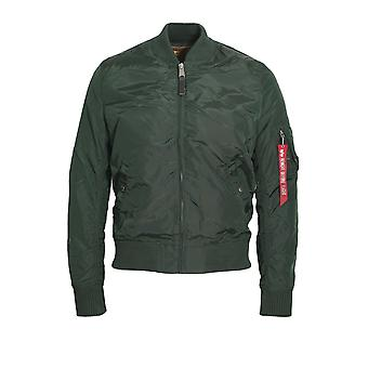 ALPHA INDUSTRIES MA1 TT Flight Jacke dunkles Petrol