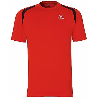 Erima men running T-Shirt red - 808514