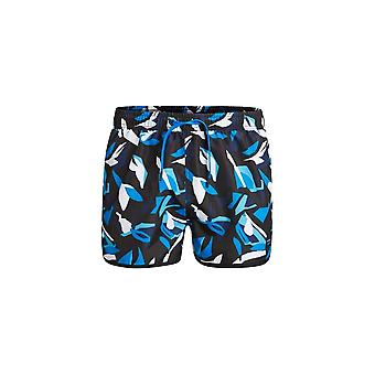 Bjorn Borg Block Print Swim Shorts, Blue/Black