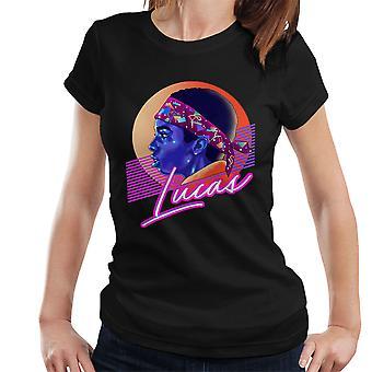 Lucas Montage fremmed ting kvinner t-skjorte