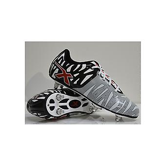 X BLADES wild thing 6 stud rugby boots [black/grey]