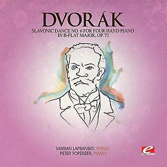 Dvorak - Slavonic Dance 6 Four Hand Piano B-Flat Maj 72 [CD] USA import