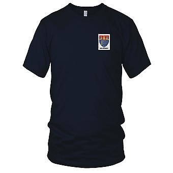 US Army - 104th Infantry Regiment NYG Rifles Embroidered Patch - Ladies T Shirt