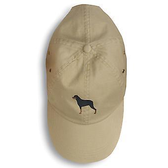 Carolines skatter BB3466BU-156 Rottweiler brodert Baseball Cap