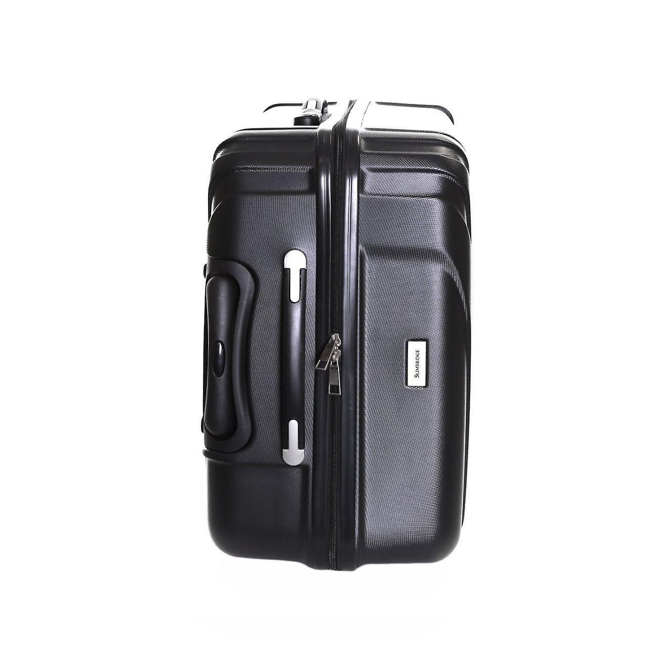 Slimbridge Fusion Cabin Hard Suitcase, Black