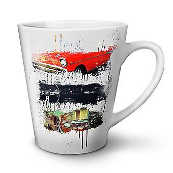 American Old Classic NEW White Tea Coffee Ceramic Latte Mug 17 oz | Wellcoda