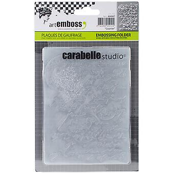 Carabelle Studio Embossing Folder-Courrier AE60007