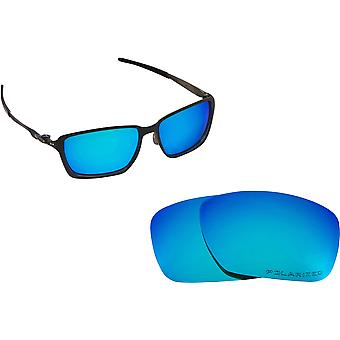 Best SEEK Polarized Replacement Lenses for Oakley TINCAN CARBON Blue Mirror