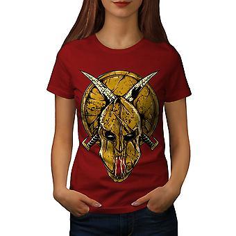 Gladiator Blood Horror Women RedT-shirt | Wellcoda