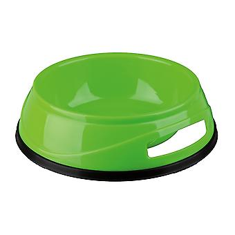 Trixie Plastic Dog Bowl With Rubber Base