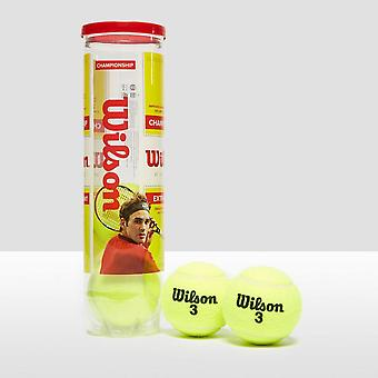 Wilson Championship Extra Duty Tennis Ball Can (4 Ball Can)