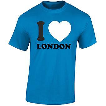 I Love London para hombre camiseta 10 colores (S-3XL) por swagwear