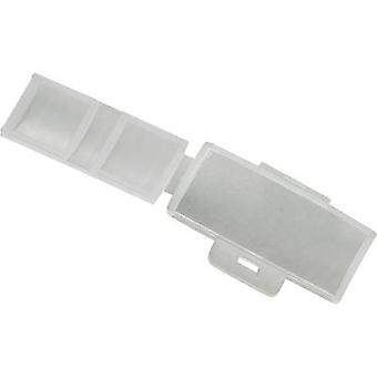 Badge Mounting type: Cable tie Writing area: 40 x 17 mm Ecru