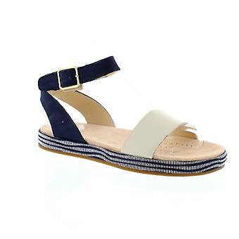 Clarks Botanic Ivy - Navy Combi (Leather) Womens Sandals