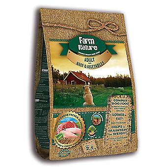 Farm Nature Pienso for dogs of beef with vegetables (dogs, food, I think)