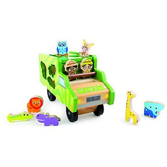 Legler Bus Safari To Meter (Babies and Children , Toys , Preschool , Puzzles And Blocs)