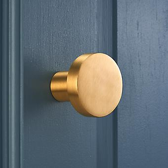 Contemporary Brushed Brass Gold Plated Wall Coat Hooks