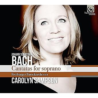 Bach / Sampson, Carolyn - cantates Bwv152 & 199 & 202 [CD] USA import