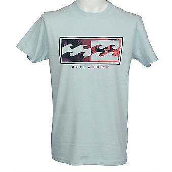 Billabong Men's T-Shirt ~ Inverse sky blue