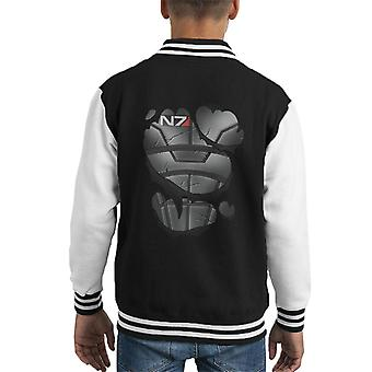 Mass Effect Commander Armour Kid's Varsity Jacket