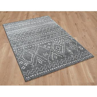 Skald 49006 4262 Grey Silver  Rectangle Rugs Plain/Nearly Plain Rugs