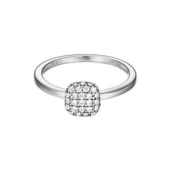 ESPRIT women's ring silver zirconia Petite ESRG92235A1