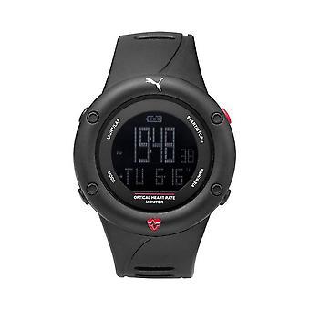 PUMA watch men's OPTICAL CARDIAC of black digital watch PU911291001