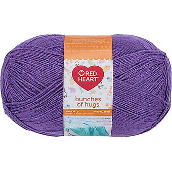 Red Heart Bunches Of Hugs Yarn-Geode