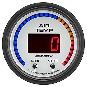 AutoMeter 5758 Phantom Digital Air Temperature Gauge 2-1/16 in. 0 - 300 Deg. F Dual Phantom Digital Air Temperature Gaug