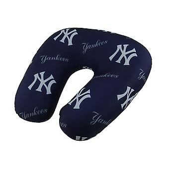 MLB New York Yankees Beaded Travel Neck Pillow