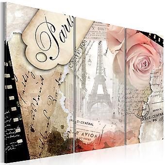 Canvas Print - Paris central ...