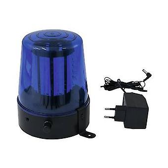 Policía LED gira beacon Eurolite 108 LEDs blau clásicos 4 W azul no. de bulbos: 108