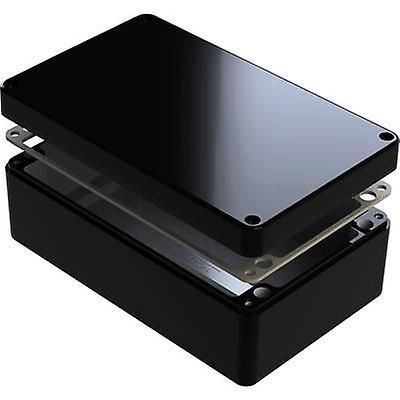 Deltron Enclosures 487-221208B Universal enclosure 220 x 120 x 80 Aluminium noir 1 pc(s)