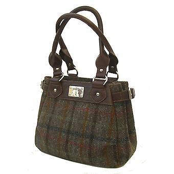 Harris Tweed Handbag Sophie (Harris Tweed Brown)