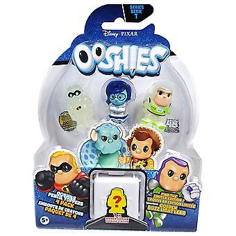Ooshies Pixar 4 Pack Asst - Wave 1- Assorted