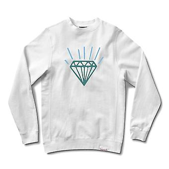 Diamond Supply Co Gem Crewneck White
