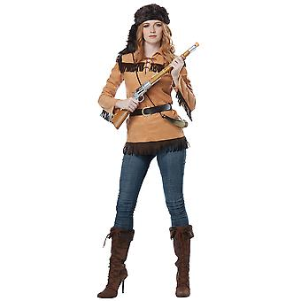 Frontier Lady Davy Crockett Pioneers Political Patriotic Womens Costume
