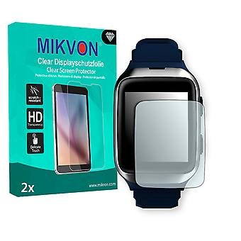 MyKronoz ZeSplash2 Screen Protector - Mikvon Clear (Retail Package with accessories) (intentionally smaller than the display due to its curved surface)