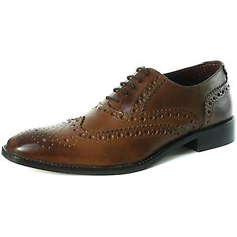 London Brogues Chad Mens Lace Up Brogue Shoes  AND COLOURS