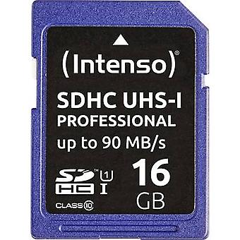Intenso Professional SDHC card 16 GB Class 10, UHS-I