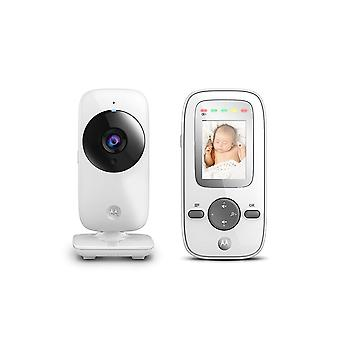 Motorola MBP481 Digital Video Baby Monitor with 2 inch Display - Silver