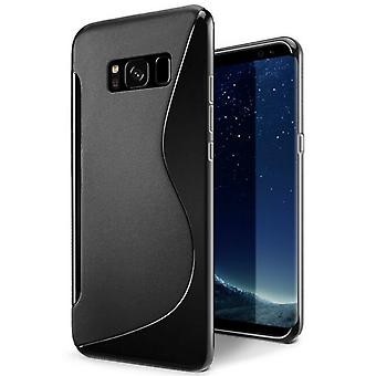 Black case for Samsung Galaxy S8+