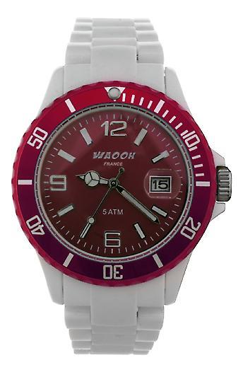 Waooh - toont MILANO38 dial & omlijsting transparante kleur