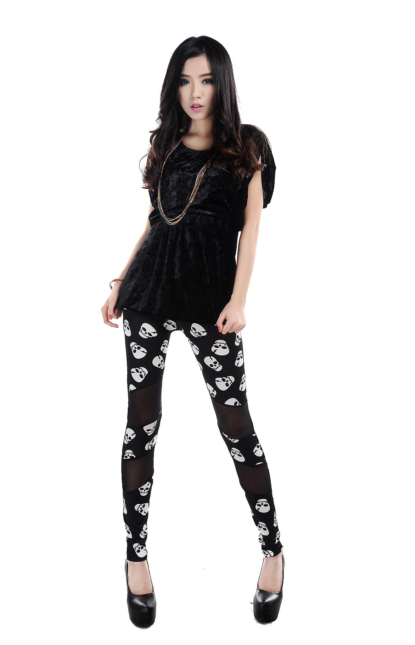 Waooh - Fashion - Legging Skull