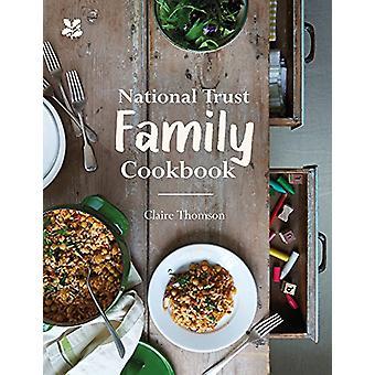 National Trust família Cookbook - livro de 9781911358039