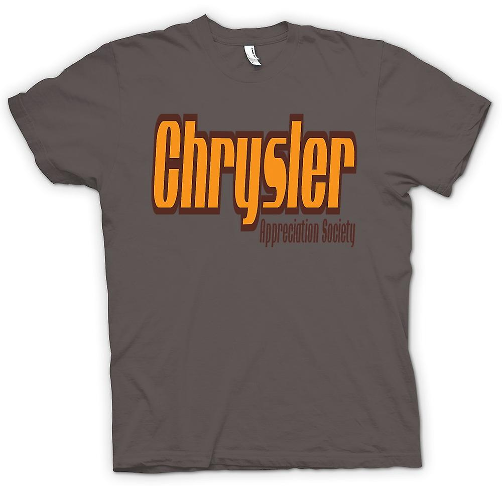 Womens T-shirt - Chrysler Appreciation Society