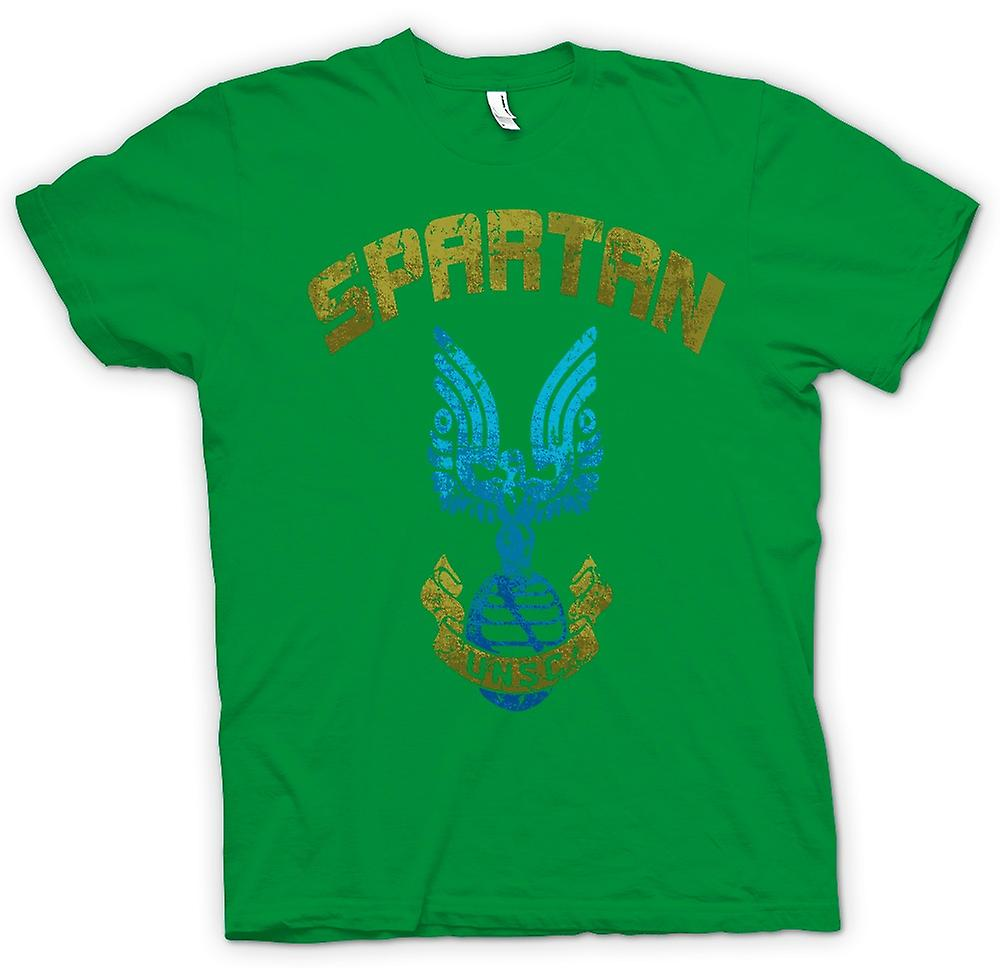 Mens t-shirt - spartano UNSC - Gamer