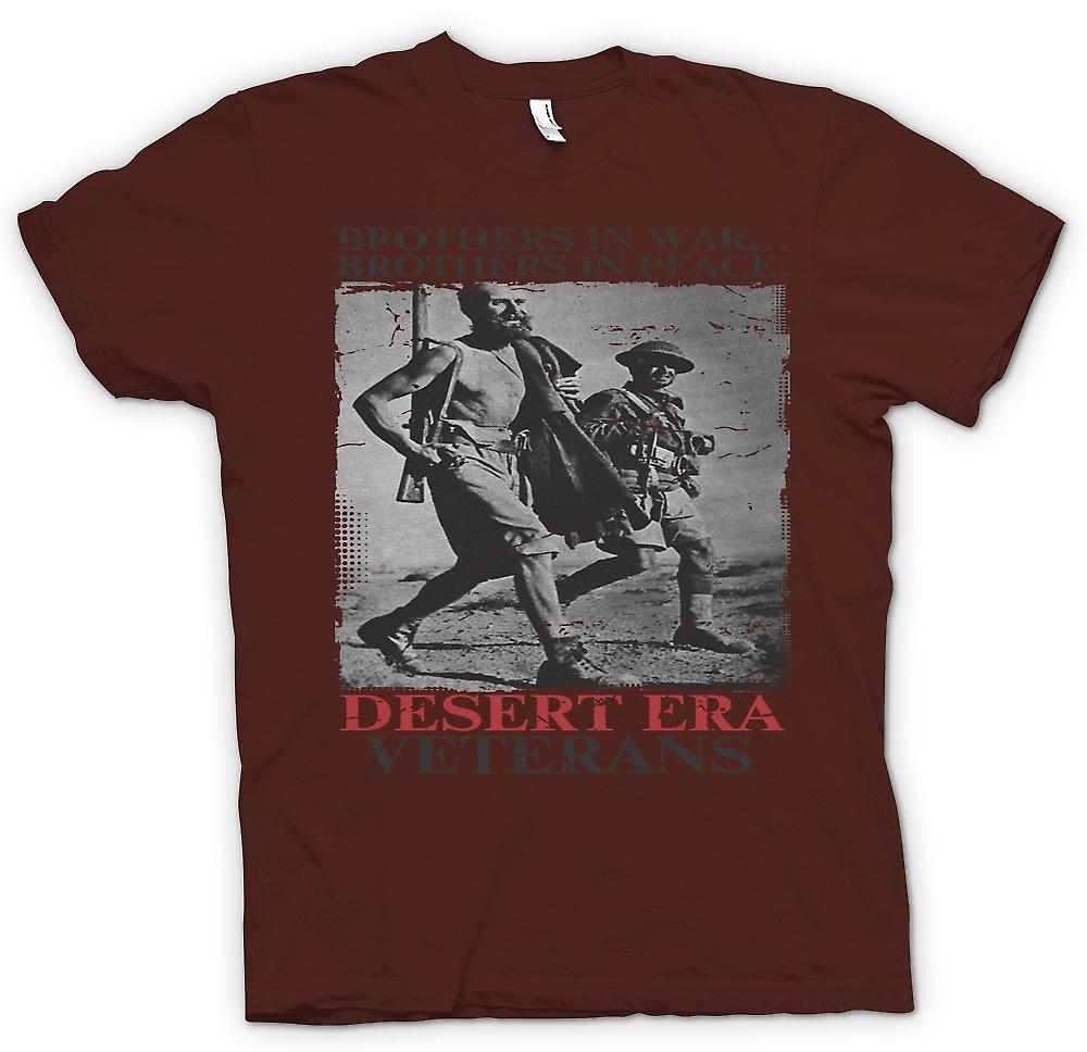 Mens t-shirt - veterani di Era del deserto - fratelli In guerra