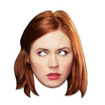 Amy Pond - Karen Gillan Doctor Who Card Face Mask