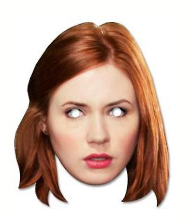 Amy Pond - Karen Gillan Doctor Who Card Face Mask